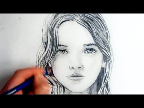 How To Draw A Female Face: Step By Step – YouTube – Le Bosh