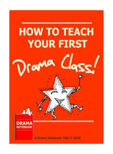 How to Teach Your First Class