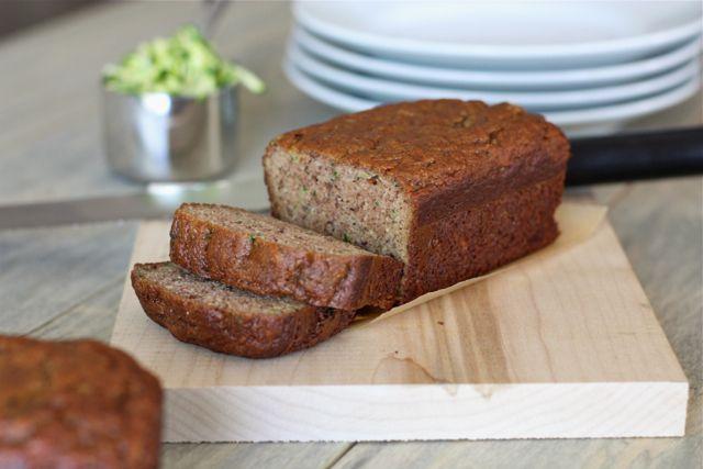 Almond Flour Zucchini Banana Bread by @Against All Grain (Danielle)