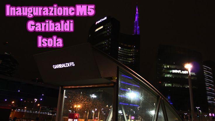 Inaugurazione metropolitana Lilla stazione Garibaldi