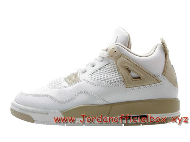 Air Jordan 4 Retro GS ´Linen Sand´ 487724-118 Femme/Enfant Jordan pas cher Shoes Blanc-Jordan Officiel Site,Boutique Air Jordan 2017!Accept Paypal!
