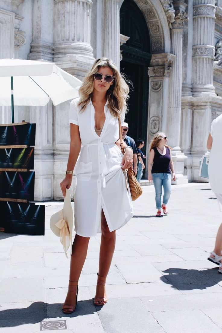 Image result for white overall spring outfits street style