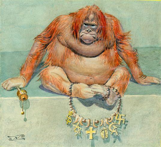 Gorilla color with chain