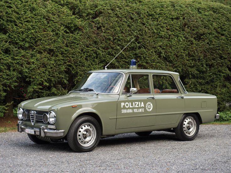 1966 Alfa Romeo Giulia Super 'Polizia' | Arizona 2016 | RM Sotheby's