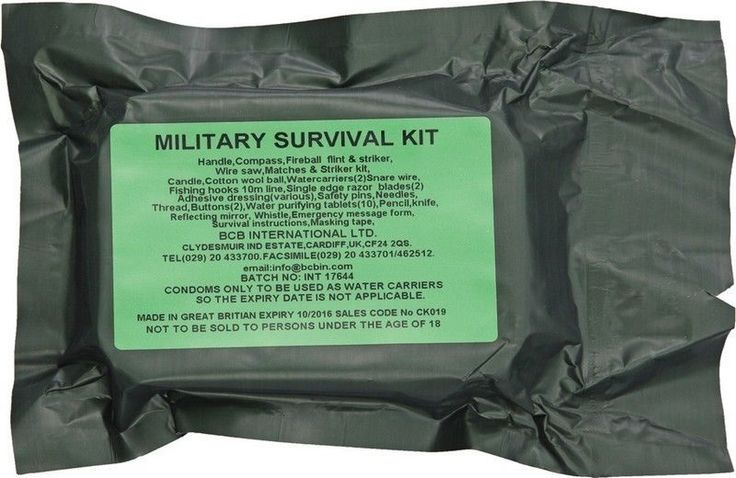 New Bushcraft Military Survival Kit BUS019 #Bushcraft