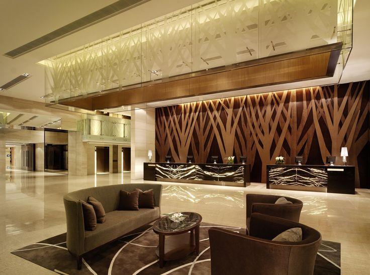 hotel lobby | Hotel Lobby at Hyatt Regency Hong Kong , Shatin.