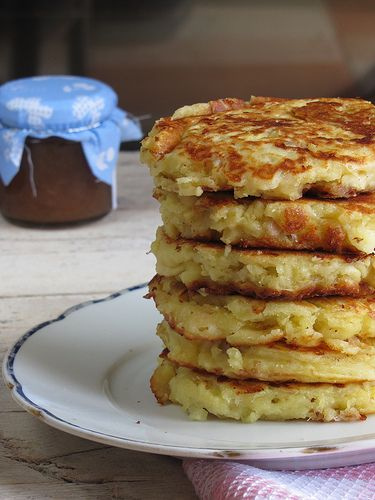 Pancakes Salati allo Stracchino