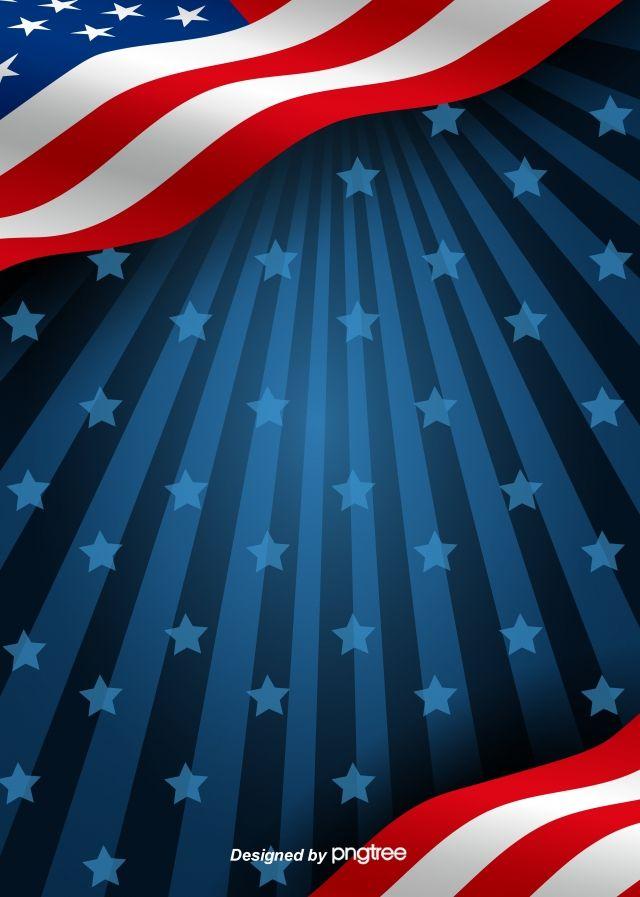 Fundo Da Bandeira Americana Com Estrelas Escuras Bandeira Dos Estados Unidos Bandeira Americana Fundo Da Bandeira