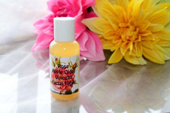 Rose Essential Oil Apple Cider Vinegar Toner by PrettyMommaBeauty
