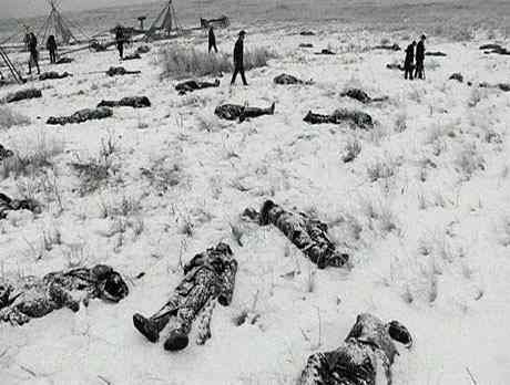 The Wounded Knee medals of honor should be rescinded