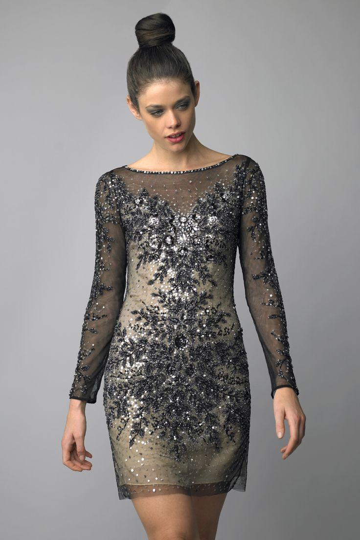 Long Sleeve Cocktail Dress 7 | Amazing Long Sleeve Cocktail