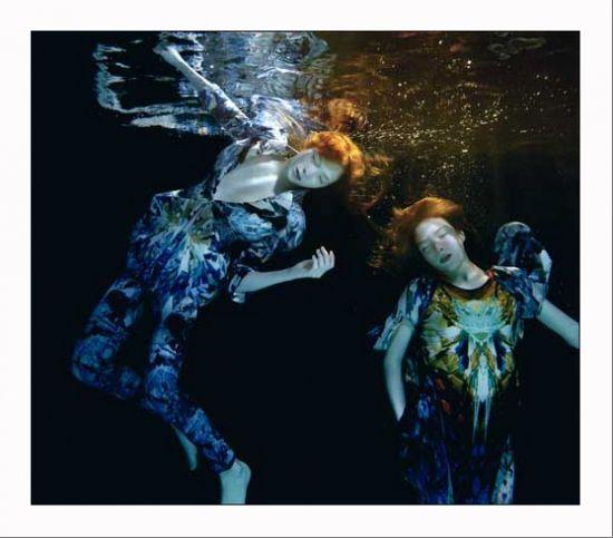 René Hallen et Radka Leitmeritz, série Underwater