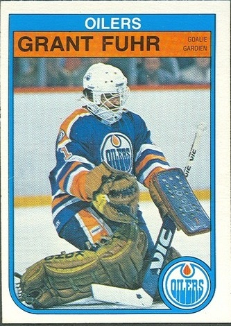 Grant Fuhr Rookie Card 1982-83 O-Pee-Chee
