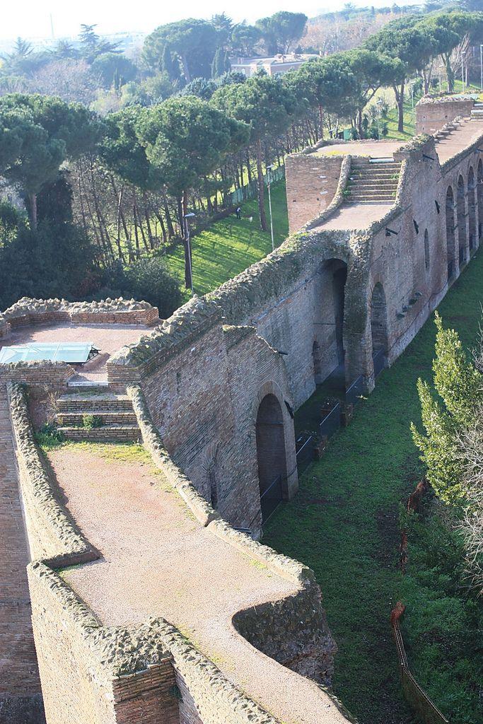 Rome Italy Museo delle  Mura