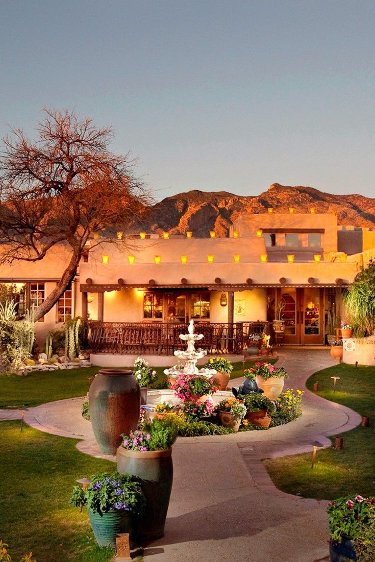 The Hacienda Del Sol Guest Ranch has been a distinctive Tucson landmark since the late 1920s. #Jetsetter