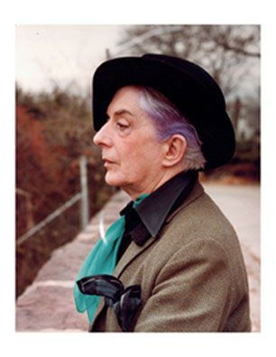 Quentin Crisp - the Grandaddy of them all! His entire life was a stage play