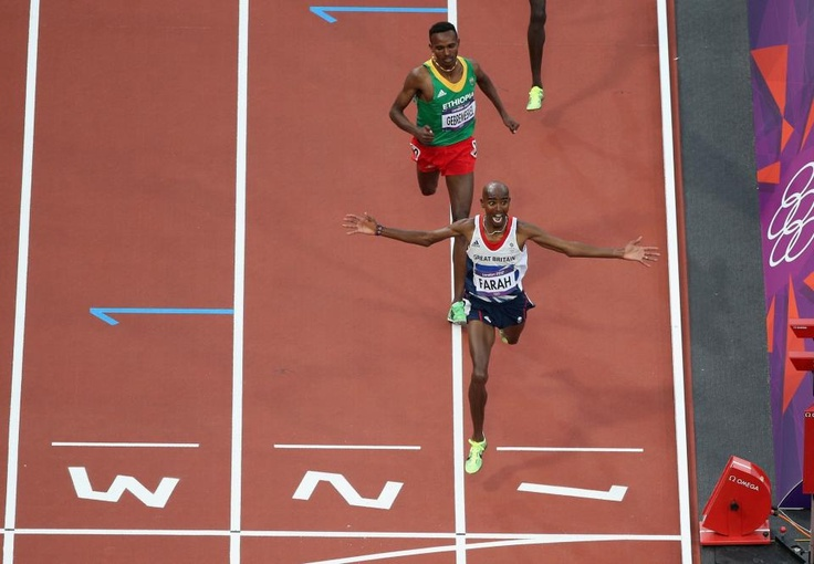 GOLD! If you saw it you will never forget it. Feast your eyes on this; the moment Team GB's Mo Farah became a Double Olympic Champion. The King of long distance took the Men's 5000m crown in a time of 13:41.66.     Congratulations Mo, you've been absolutely breathtaking in both your victories.  https://www.facebook.com/TeamGB
