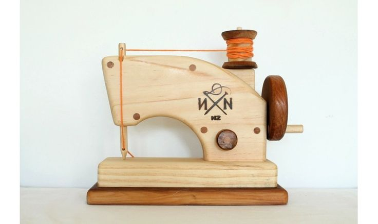 Needle and Nail | S - Wooden Toy Sewing Machine