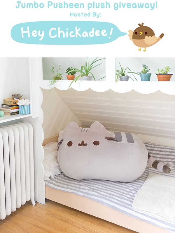 Jumbo Pusheen Giveaway September 2016