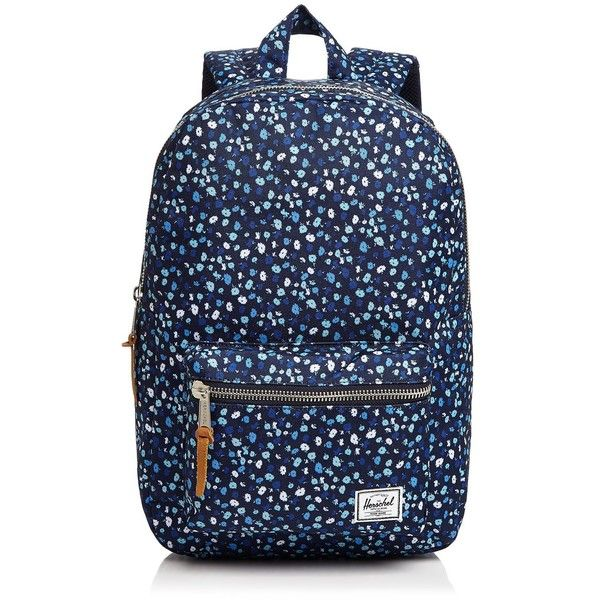 Herschel Supply Co. Settlement Mid Volume Backpack ($64) ❤ liked on Polyvore featuring bags, backpacks, blue backpack, knapsack bag, daypack bag, herschel supply co backpack and backpack bags