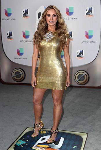 Galilea Montijo en los Premios Juventud 2016.