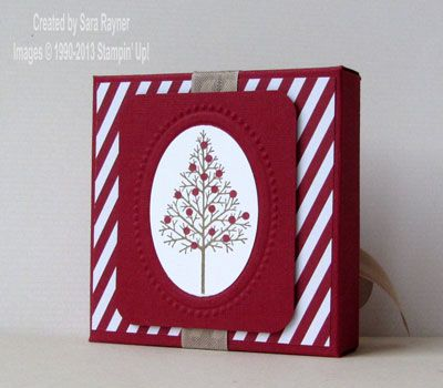 Tutorial – how to create a mini card box with the Envelope Punchboard