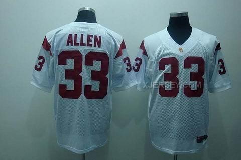 http://www.xjersey.com/usc-trojans-33-allen-white-jerseys.html USC TROJANS 33 ALLEN WHITE JERSEYS Only $37.00 , Free Shipping!