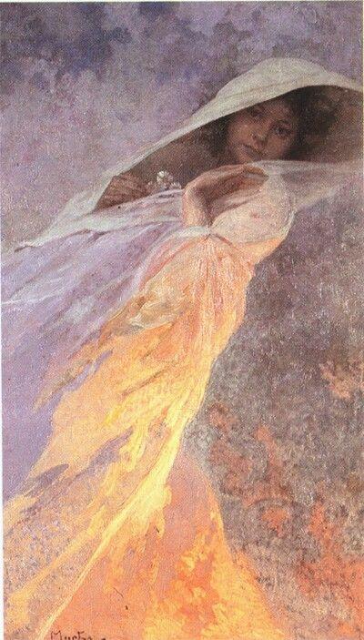 Alphonse Mucha - Heda 1916