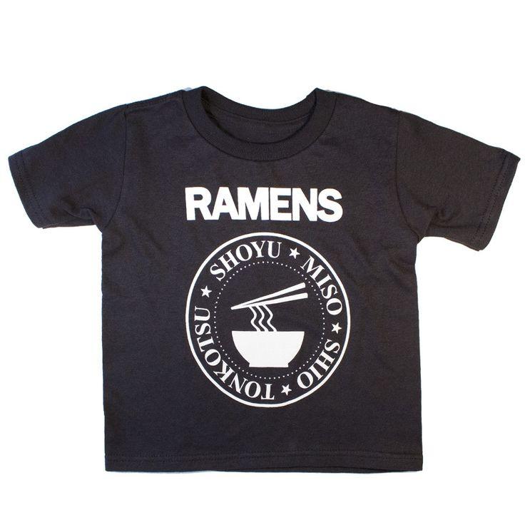 Japanese Ramens Music Kid's T-shirt