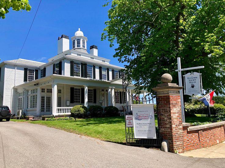 Mayflower Society Plymouth Massachusetts Paul Chandler May 2019