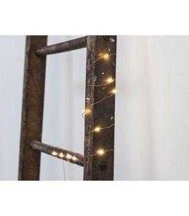 Guirlande de petites lumières marocaines dorées