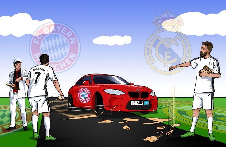 Бавария  Реал Мадрид. Прогноз Остапа Бендера