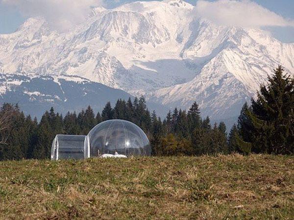 Transparent Bubble Tent lets you sleep underneath the stars - ego-alterego.com