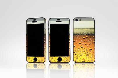 How about a beer cover for your phone? Gluedonline Decorative phone and device skins South Africa | iPhone