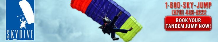 Make Your Jump Today | Skydive Pepperell Central