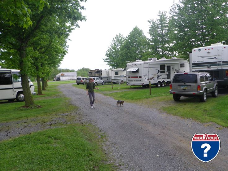 Fort Chiswell RV Park Located In The Blue Ridge Mountains