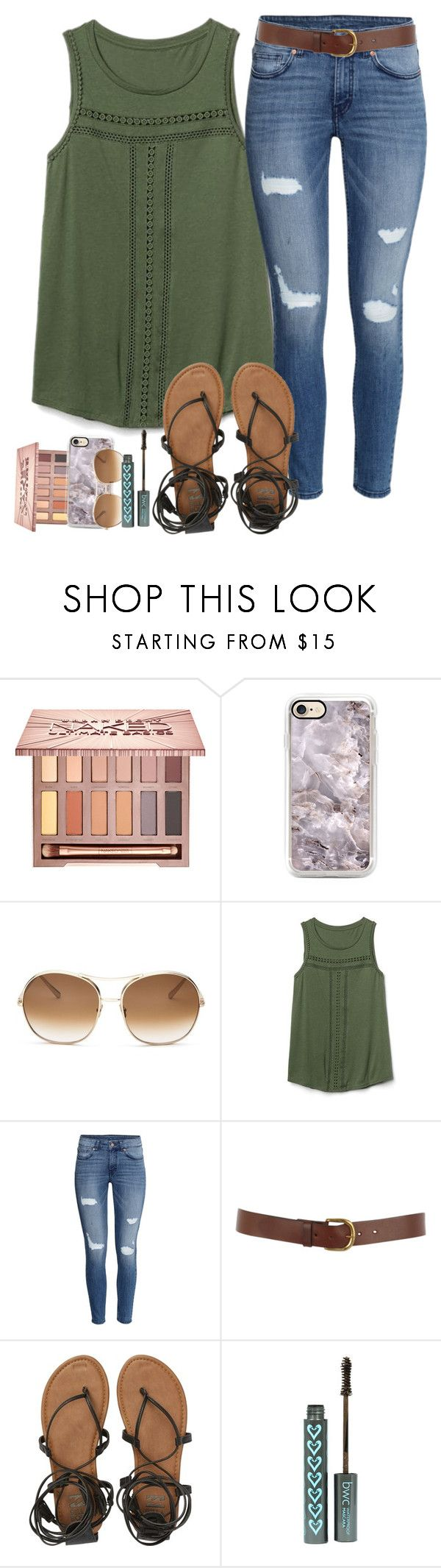 """There's no way I can make it without you"" by labures on Polyvore featuring Urban Decay, Chloé, Gap, H&M, Warehouse and Billabong"