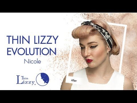 Thin Lizzy Beauty Evolution - Nicole - YouTube