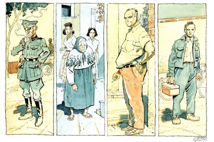 Stefano Casini e i fumetti. Una passione diventata lavoro.