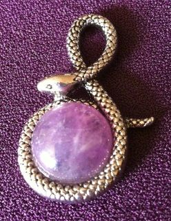 Amethyst Snake Pendant The snake animal meaning is powerfully connected to life force and primal energy. In many cultures, it is revered as a powerful totem representing the source of life. When the snake spirit animal appears in your life, it likely means that healing opportunities, change, important transitions, and increased energy are manifesting.