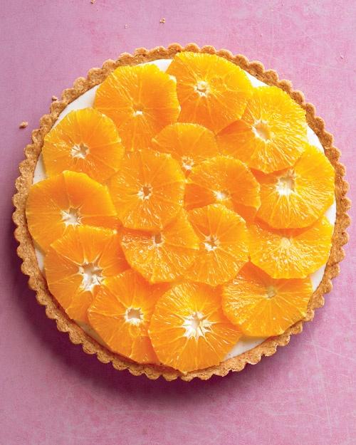 Fresh Orange and Yogurt Tart | Recipe