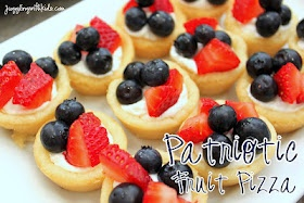 Juggling With Kids: Patriotic Fruit Pizza