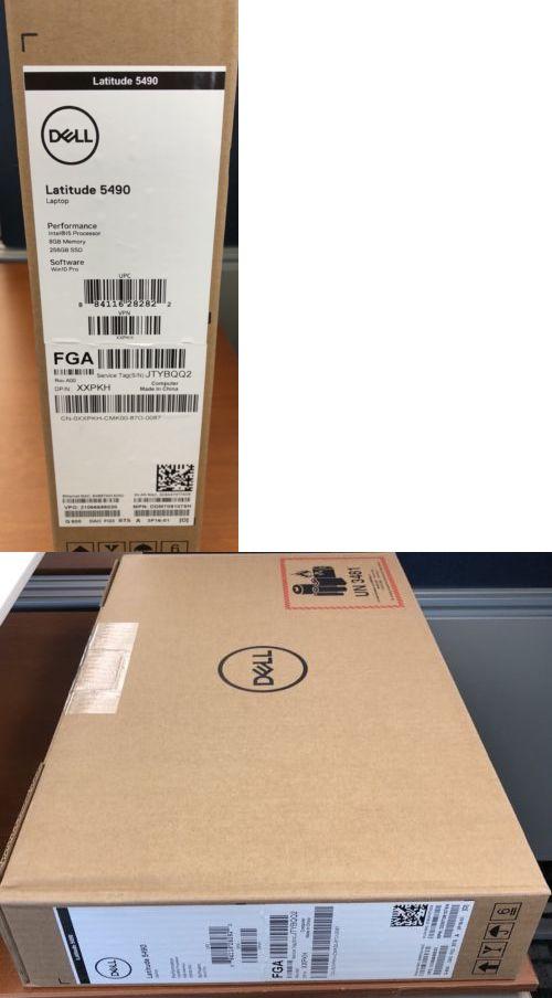Laptops and Netbooks 175672: Dell Latitude 5490 14 Intel I5