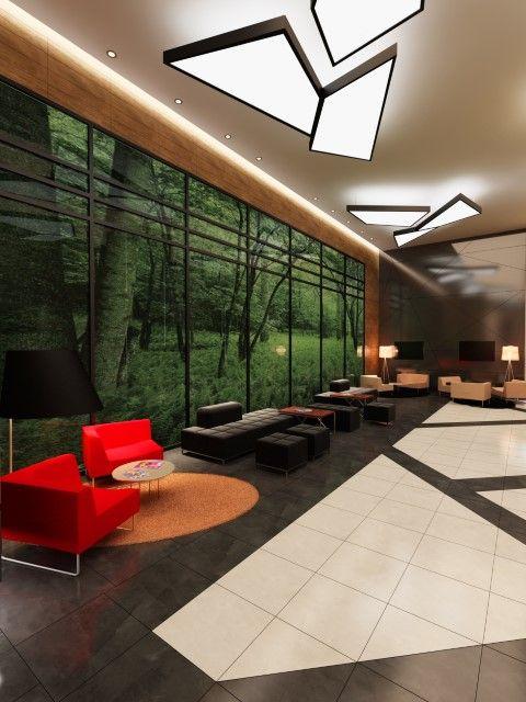 Lobby at Key Plaza by Net Mimarlık.