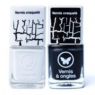 Les vernis à ongles craquelés, disponibles en noir et blanc chez Beauty Success  Vernis à ongles craquelé - BEAUTY SUCCESS - Marques | Beauty Success