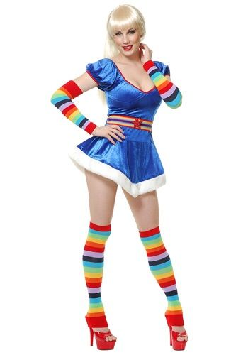 Sexy 80s Rainbow Brite Omg, this is adorbs... :) $44.99... would just need shoes... hm.