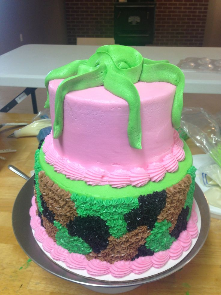 1000+ images about Camoflauge Cakes on Pinterest Camo ...