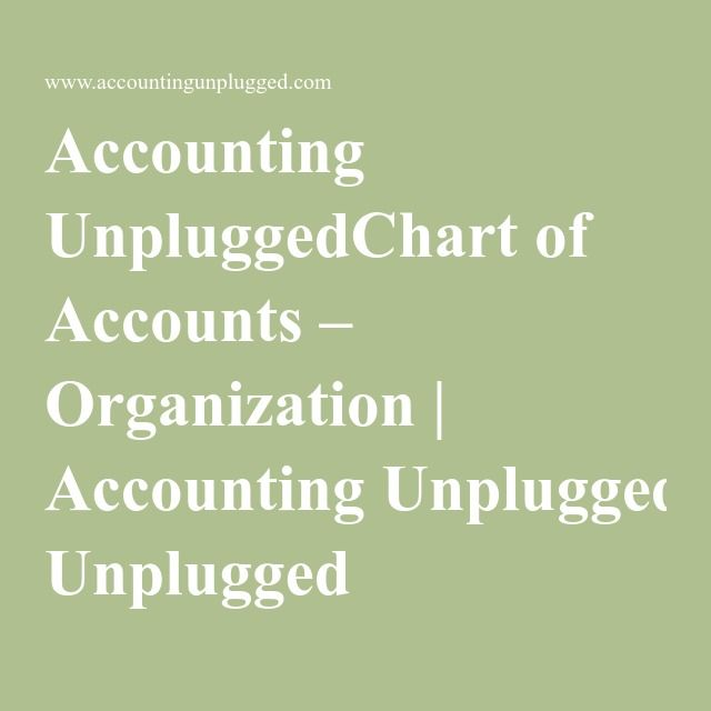 Las 25 mejores ideas sobre Chart Of Accounts en Pinterest - sample chart