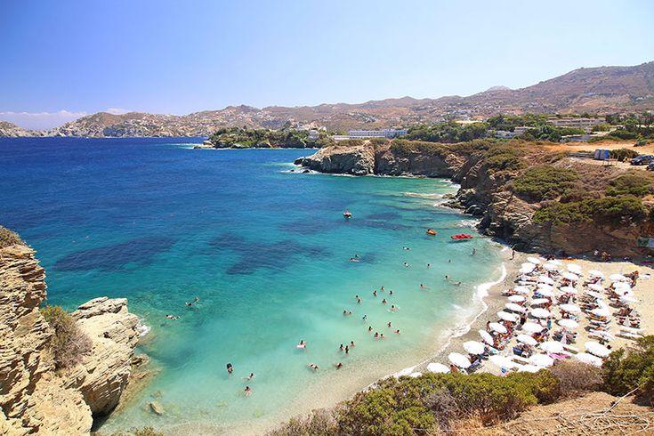 Psaromoura beach in Agia Pelagia