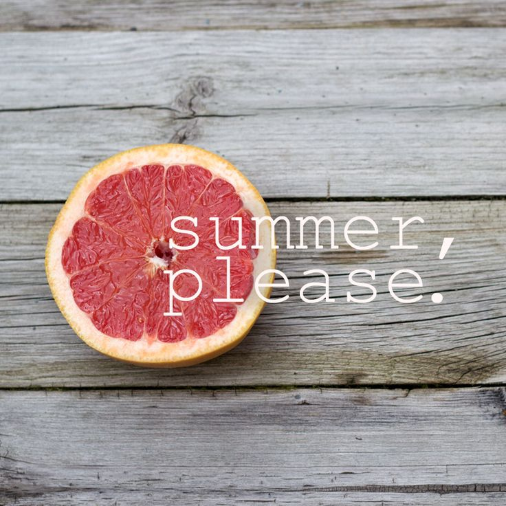 summer all day every day, please!